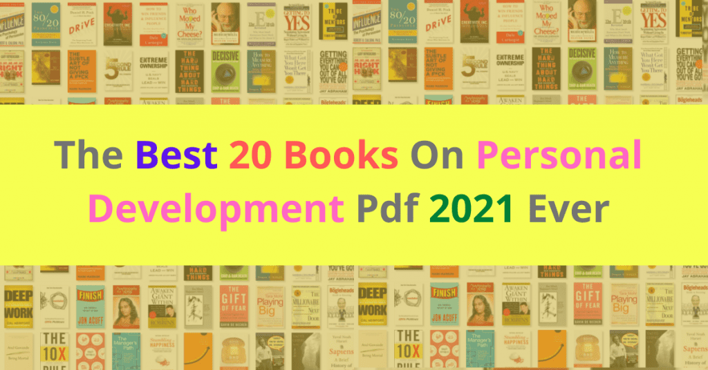 The Best 20 Books On Personal Development Pdf 2021 Ever